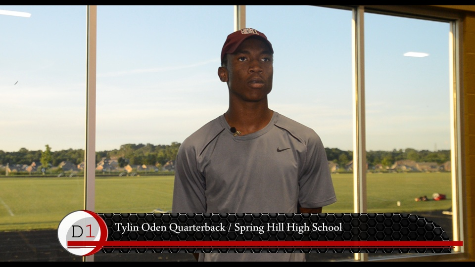 Tylin Oden Throwing Session