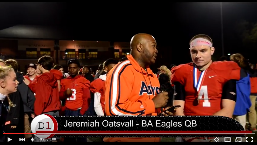 MBA at Brentwood Academy Post Game Interview