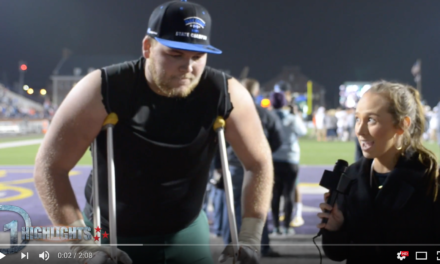 Knoxville Catholic Post Game Interview Cade Mays